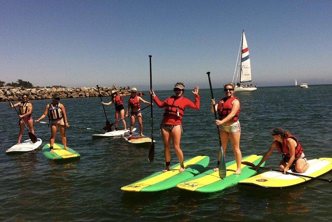 Santa Cruz Harbor Standup Paddle Board Rental - 1 Hour (Valid at 413 Lake Ave)