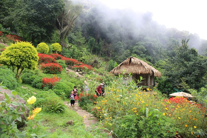 Private LandMark tour! Doi suthep+Hmong hilltribe + Umbrella village&Hot spring photo 3
