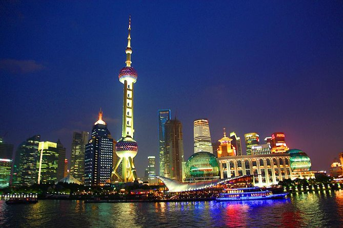 Zhujiajiao Water Town and Night cruise in Hangpu River-Small Group
