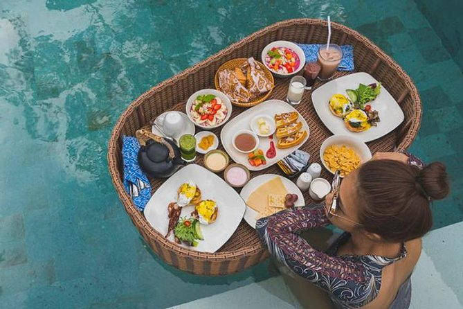 Seminyak Hype Floating Pool Breakfast with Tropical Vibes in Cafe Cabina Bali