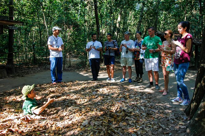 Big Group: Historic of Cu Chi from Ho Chi Minh City