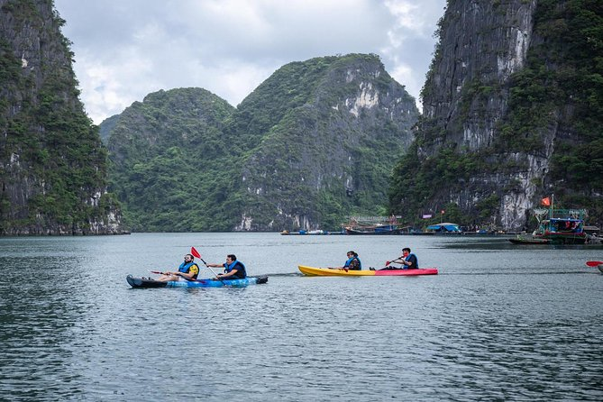 Halong Bay Full Day Tour with 6 Hours Cruise on Deluxe Cruise - All Included
