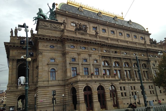 Prague New Town: Art Nouveau and Elegant Cafés Walking Audio Tour by VoiceMap