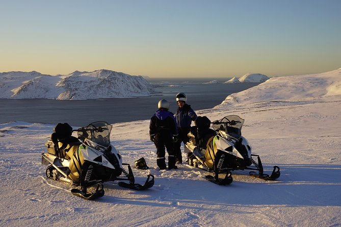The Iconic North Cape by snowmobile photo 4