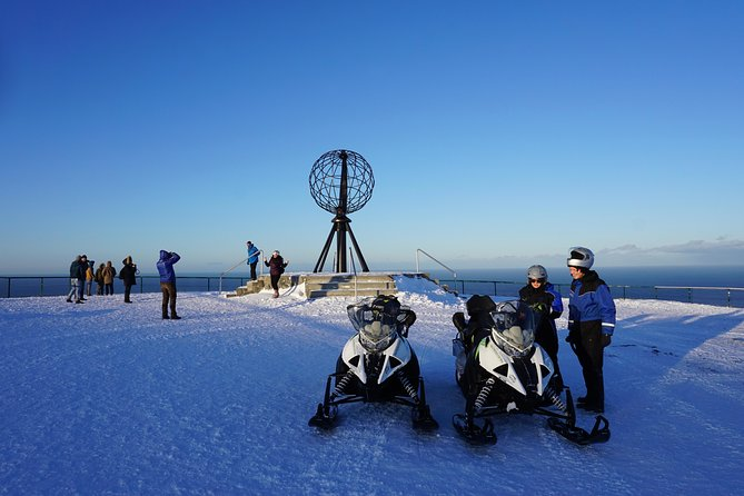 The Iconic North Cape by snowmobile photo 1