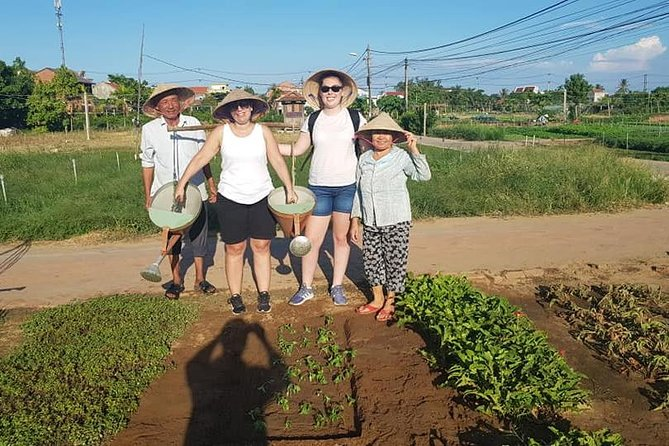 HOI AN COUNTRYSIDE EXPERIENCETOUR inThe Afternoon(Basket Boat,Buffalo,Gardening)