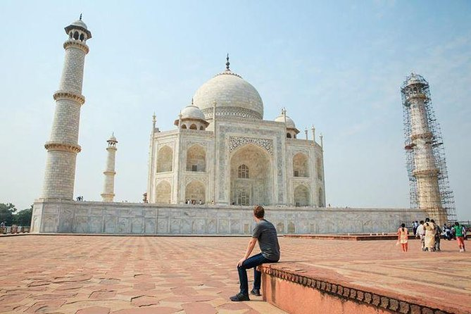From Delhi: Private Taj Mahal Sunrise & Sunset 2-Day Tour