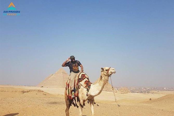 Day Tour To Giza Pyramids With Camel Ride And Egyptian Museum In Cairo photo 1