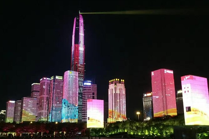 Private Shenzhen Evening Tour With Shenzhen Top Scenic Spots