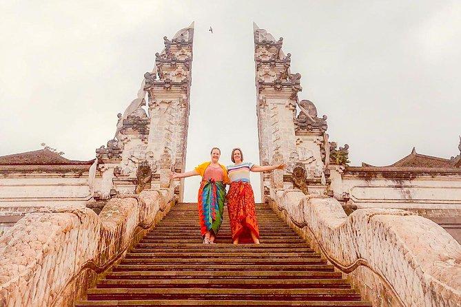 East Bali Tour, Lempuyang - Tirta Gangga - Ujung Soekasada - Black sand Beach