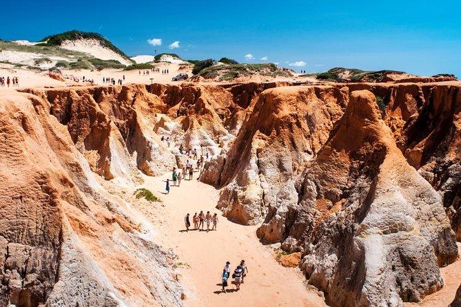 3 Beaches in 1 day (Morro Branco, Praia das Fontes and Canoa Quebrada)