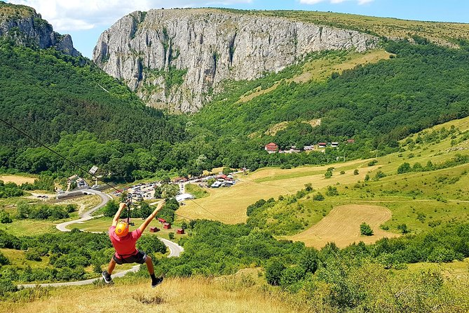 CLUJ ADVENTURE TOUR ! ZIP LINE and HIKE