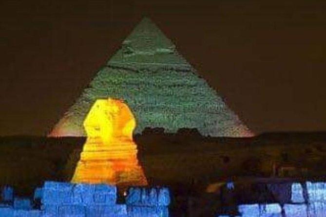 sound and light show (Giza pyramids)