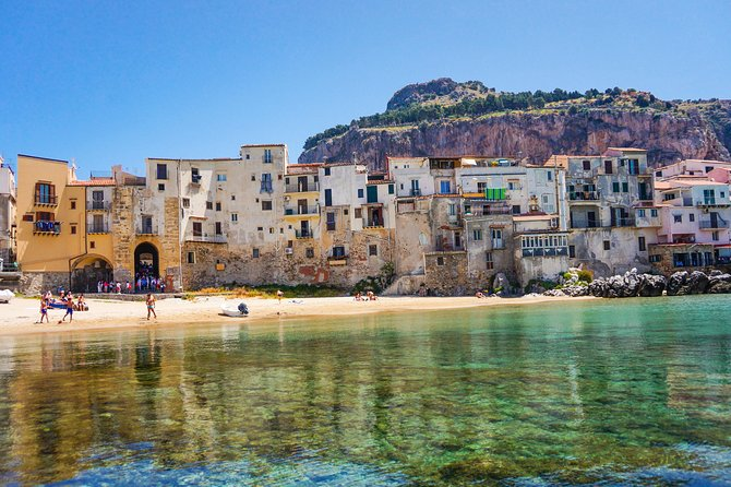 Departure Private Transfer Cefalù to Palermo Airport PMO by Business Car or Van