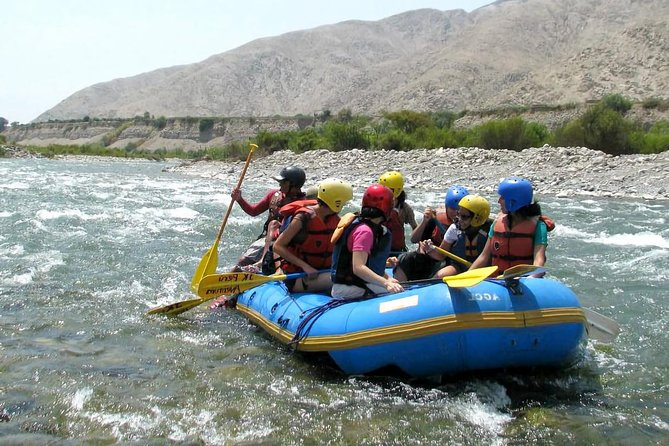 Rafting in Lunahuana