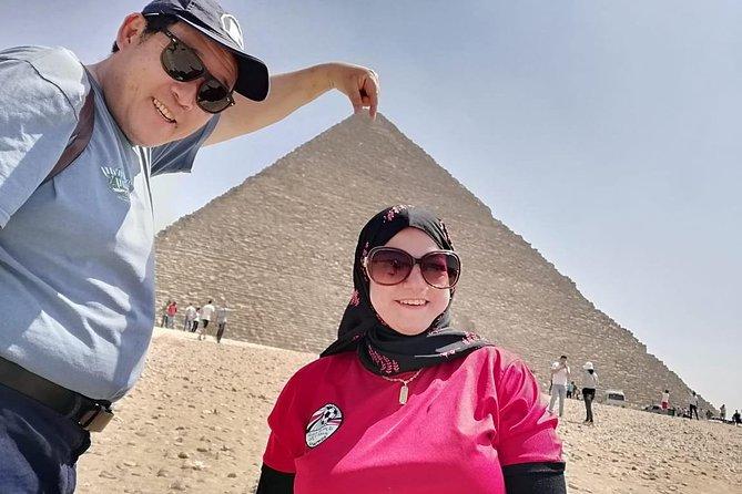 8-hours Giza pyramids , Sakkara step pyramids & Memphis old city