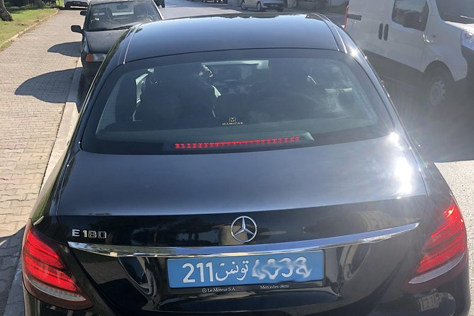 Executive: Transfer Tunis Airport to Hammamet by Mercedes E Class