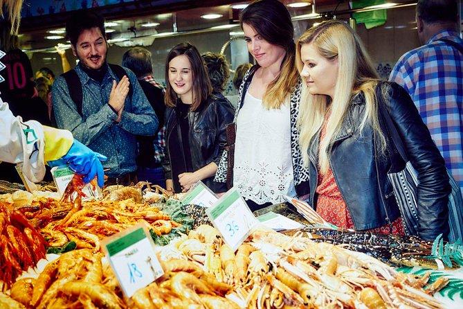 Expert Led Barcelona Market & Food Tour