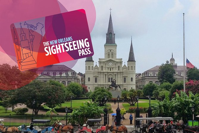Der New Orleans Sightseeing Day Pass: Über 20 Attraktionen und Touren in The Big Easy