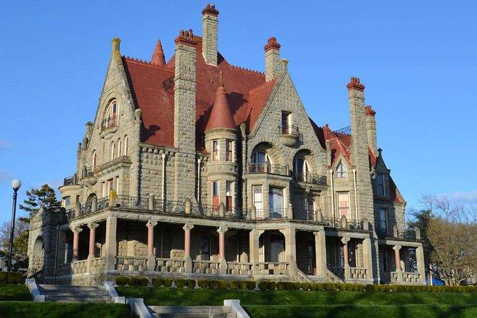 Vancouver->Victoria Tour   Visit Craigdarroch Castle and Butchart Garden Private