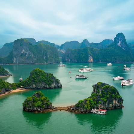 Hanoi : Halong Bay On Cruise & Enjoy Seafood Lunch