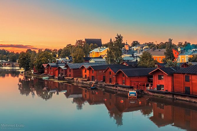 Private Helsinki City tour and Medieval Porvoo by car with personal guide
