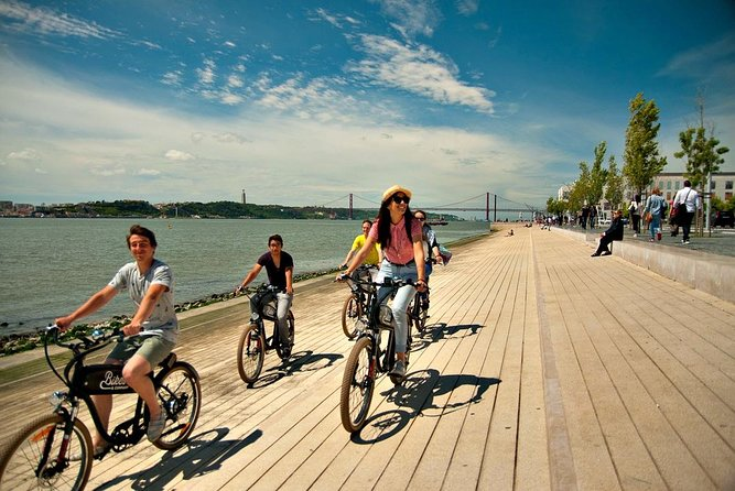 Lisbon: 3-Hour Follow the River to Belém Electric Bike Tour