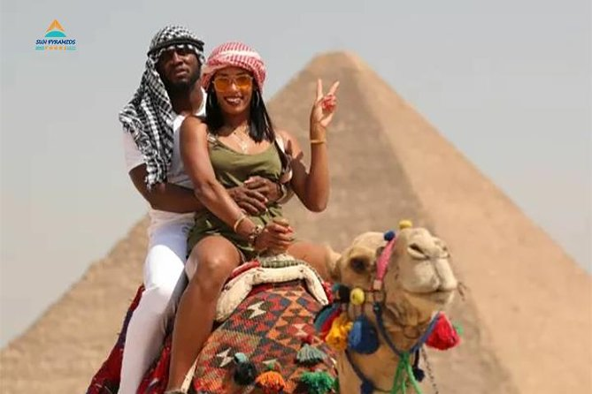 Giza Pyramids by Camel photo 4