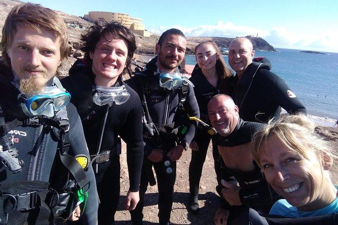 Curso PADI en aguas abiertas en Gran Canaria