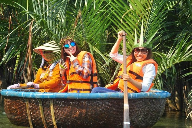 Discover Coconut Forest Hoi An By Basket Boat