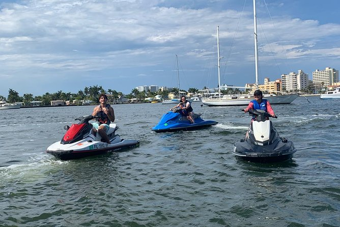 One hour Jet Ski Ride with Guide