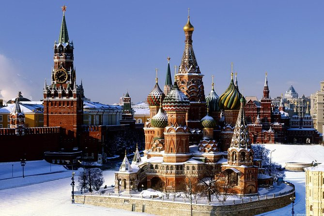 To Moscow from St Petersburg. The Best One Day Tour in Moscow. Visa Free