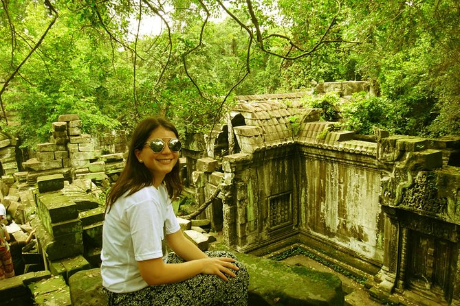 Hidden Temple of Beng Mealea and Kor Ker
