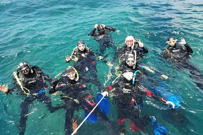 Scuba Diving Introductory, Baptism of the Sea