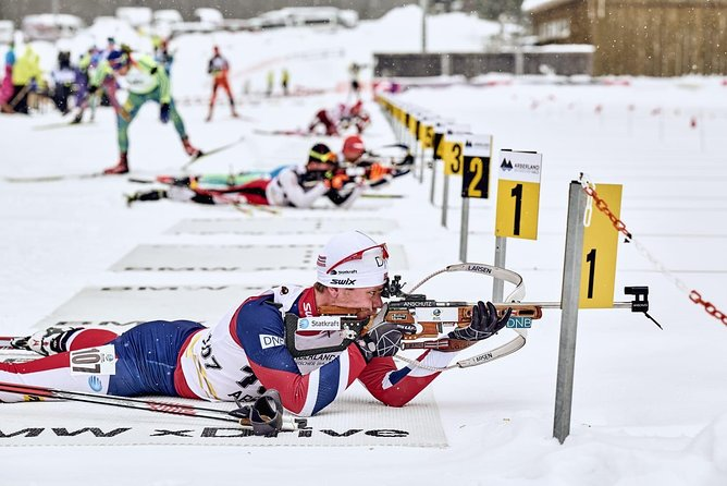 Biathlon courses in the Bavarian Forest