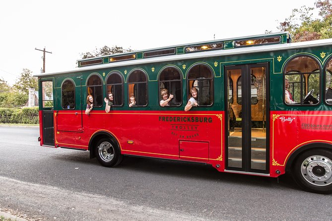 Fredericksburg City Trolley Tour