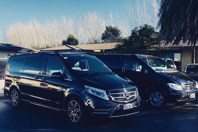 TRANZALPINE MERCEDES EXECUTIVE VAN - Rail to Christchurch Hotel 1 - 5 Passengers