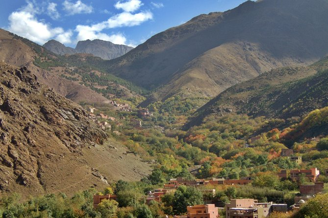 Excursion from Marrakech to Atlas mountains