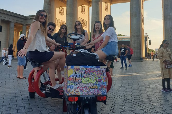Party Bike & Beer Bike City tour in Berlin for max. 6 persons