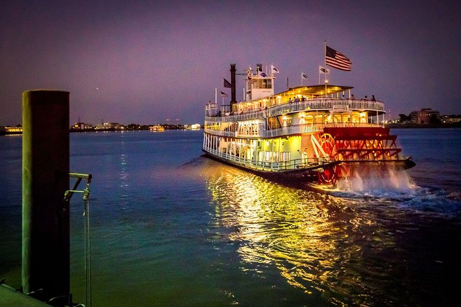 Steamboat Natchez Evening Jazz Cruise with Dinner Option