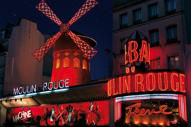 Moulin Rouge Show Paris