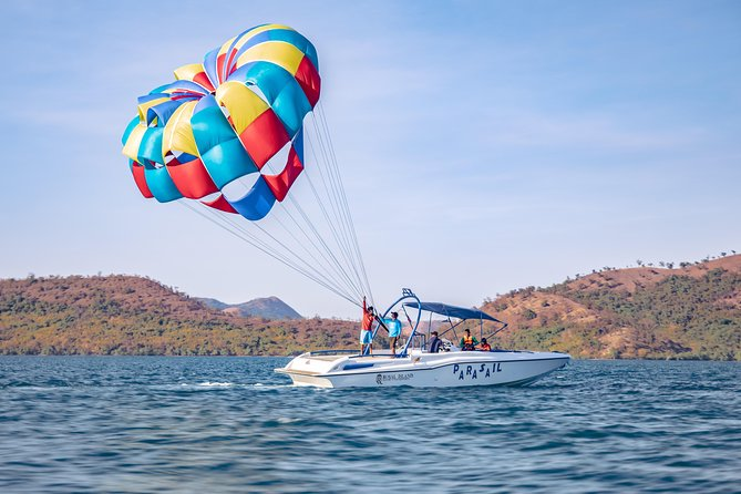 Parasailing and Clear Kayak Experience in Coron