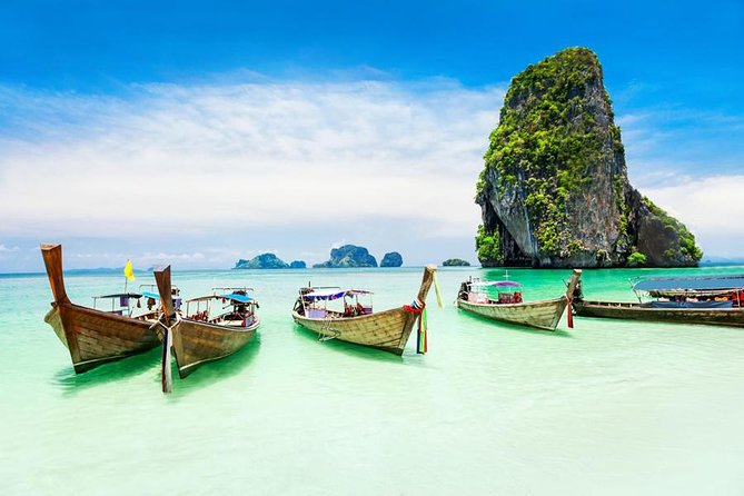 4 Islands By Long Tail Boat from Krabi