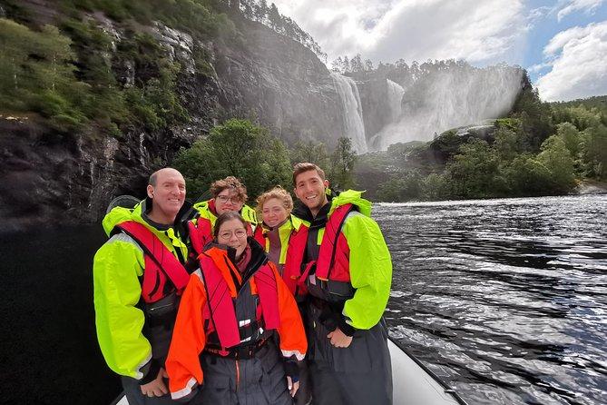 Fjordcruise Privado: Bergen & Oslofjord por Zodiac Speed Boat