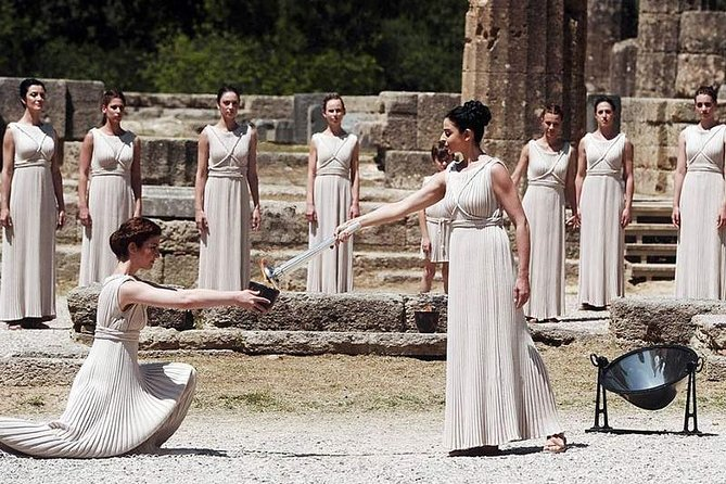 Ancient Olympia Tour 4seat 12hours