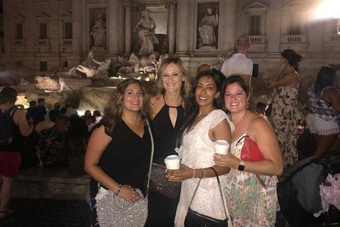 A private tour of Rome by night