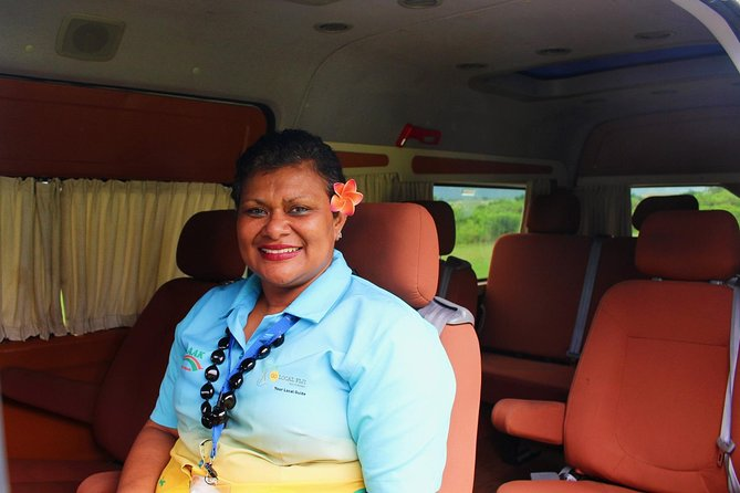 Private Transfer from Tambua Sand/Hideaway/Naviti/Warwick Resort to Nadi Airport