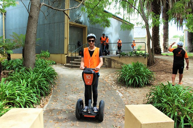 Segway Tour at Seppeltsfield Winery
