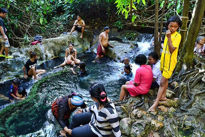 Half Day Emerald pool & Hot spring Waterfall No Lunch From Krabi