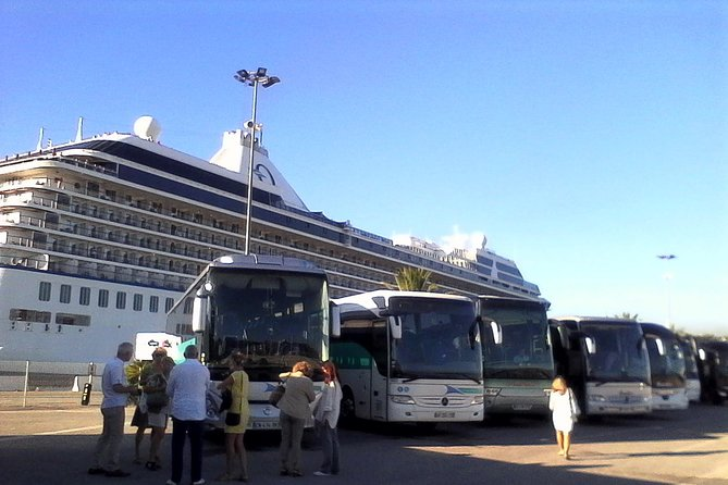 Transfer from marseille Cruise Terminal to Aix en Provence